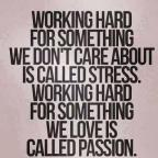 Passion reigns