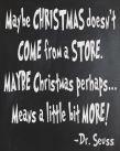 Christmas revelation by Dr Seuss