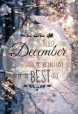 Hello December! Make it the best month of 2014!