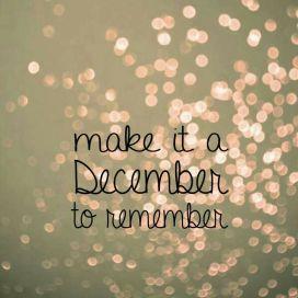 Make it a december..