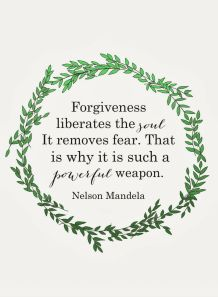 Forgive others and you will set yourself free