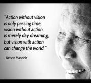 Follow your vision with action