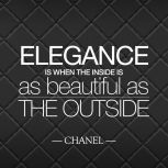 Elegance - beauty inside and out