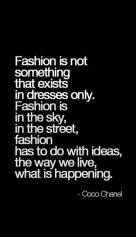 Fashion, defined by Chanel