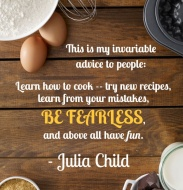 Learn to cook and have fun!