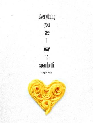 Sophia Lorens owes spaghetti.. a lot.