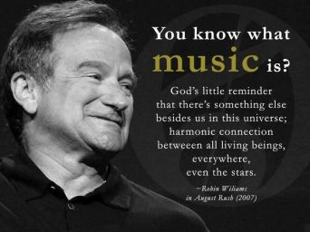 Music, eloquently defined