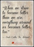 Strive to become better