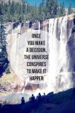 The Universe has got your back
