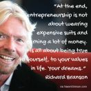Entrepreneurship, the Branson way