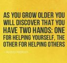 Choose to help others