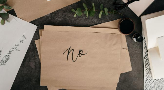 Setting Boundaries: The Art of Saying 'No'